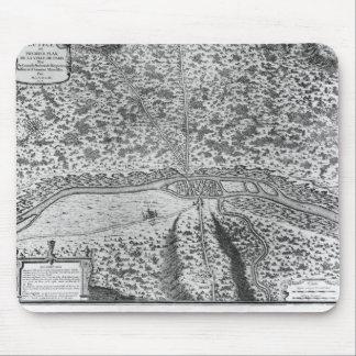 Lutetia o el primer plan de París Alfombrillas De Ratones