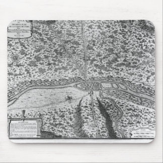 Lutetia or the first plan of Paris Mouse Pad