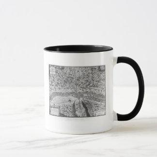Lutetia or the first plan of Paris Mug