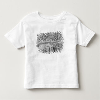 Lutetia or the first plan of Paris T Shirts