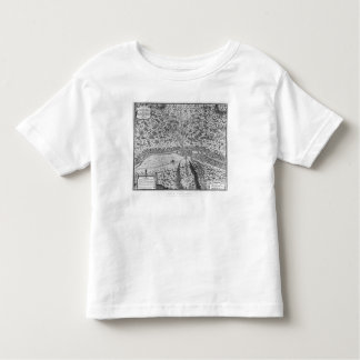 Lutetia or the first plan of Paris T-shirts