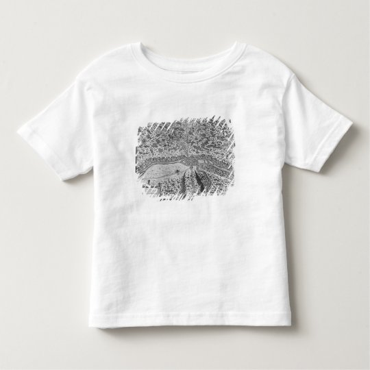 Lutetia or the first plan of Paris Toddler T-shirt