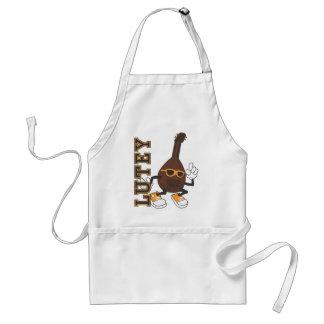 Lutey mascot adult apron
