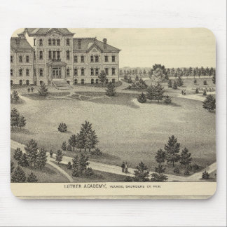 Luther Academy, Nebraska Mouse Pad