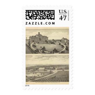 Luther Academy, Nebraska Postage