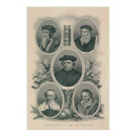 Luther and 16th Century Reformers Posters