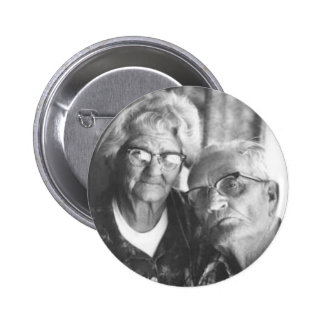 Luther and Minnie 2 Inch Round Button