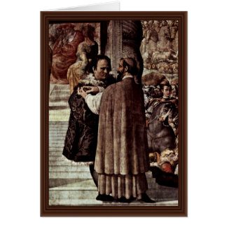 Luther And The Cardinal Gaetani Card