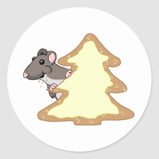 Luther and the Giant Christmas Cookie Sticker