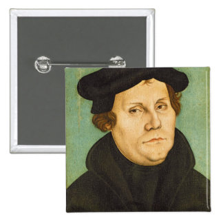 Luther as Professor, 1529 2 Inch Square Button