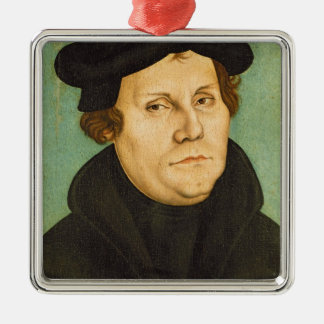 Luther as Professor, 1529 Metal Ornament