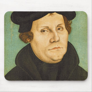 Luther as Professor, 1529 Mouse Pad
