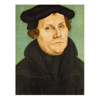 Luther as Professor, 1529 Postcard
