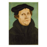 Luther as Professor, 1529 Poster