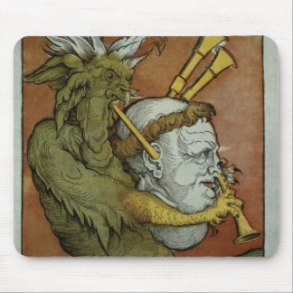Luther as the Devil's Bagpipes, c.1535 Mouse Pad
