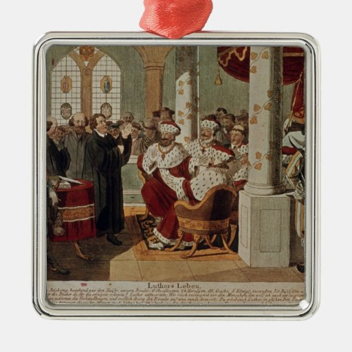 Luther at the Diet of Worms Ornament