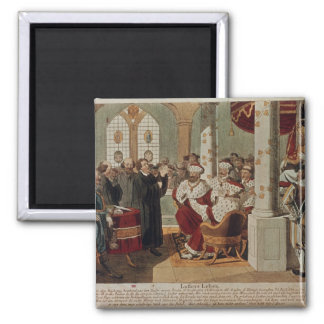 Luther at the Diet of Worms Refrigerator Magnet