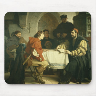 Luther at the 'Schwarzen Baeren' in Jena, 1873 Mouse Pad