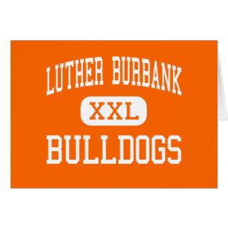 Luther Burbank - dogos - alta - San Antonio Tarjeta De Felicitación