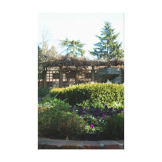 Luther Burbank Spring Day Canvas Print