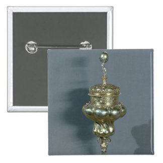Luther Chalice, 2 Inch Square Button