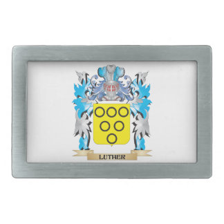 Luther Coat of Arms - Family Crest Belt Buckle