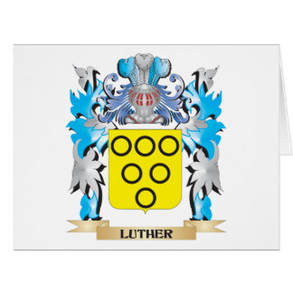 Luther Coat of Arms - Family Crest Cards