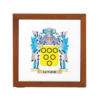 Luther Coat of Arms - Family Crest Pencil/Pen Holder