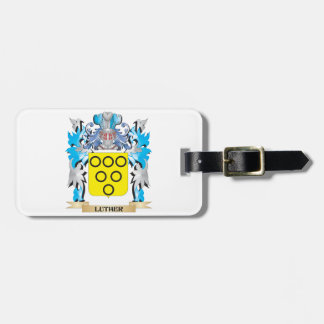 Luther Coat of Arms - Family Crest Luggage Tags