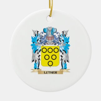 Luther Coat of Arms - Family Crest Christmas Tree Ornament
