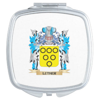 Luther Coat of Arms - Family Crest Compact Mirrors