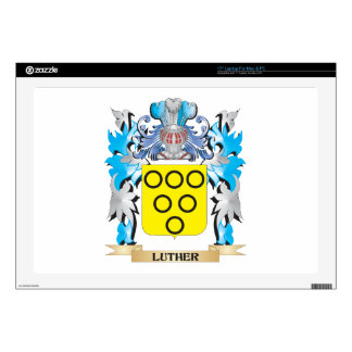 Luther Coat of Arms - Family Crest Laptop Decal