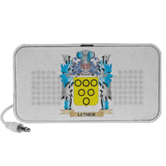 Luther Coat of Arms - Family Crest Notebook Speakers