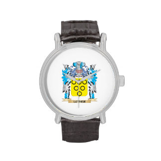 Luther Coat of Arms - Family Crest Wristwatch