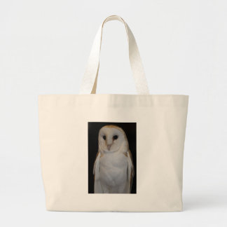 Luther- Common Barn Owl I Large Tote Bag