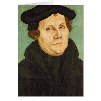 Luther como profesor, 1529 tarjeta de felicitación