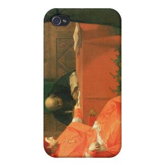 Luther delante de Cajetan cardinal iPhone 4 Carcasas
