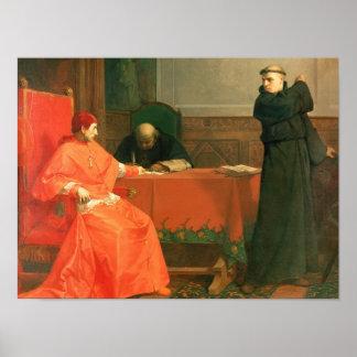 Luther delante de Cajetan cardinal Impresiones