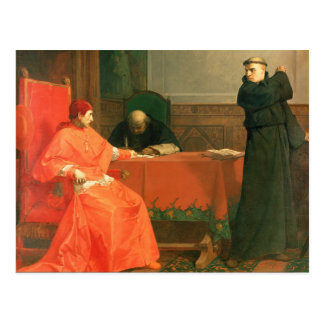 Luther delante de Cajetan cardinal Postal
