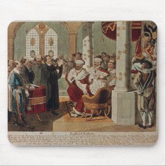 Luther en la dieta de gusanos alfombrillas de ratón