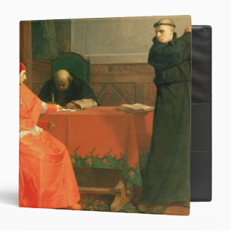 Luther in front of Cardinal Cajetan Binder