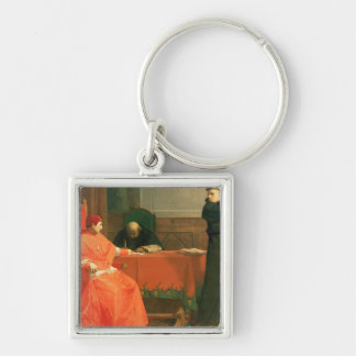 Luther in front of Cardinal Cajetan Key Chains