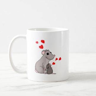 Luther loves his Mom Coffee Mug