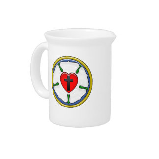 Luther Rose Beverage Pitcher