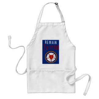 LUTHER ROSE ON BANNER-REMAIN FAITHFUL ADULT APRON