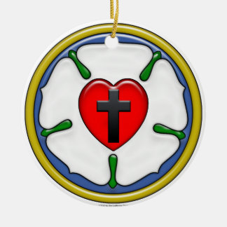 Luther Rose Ornament