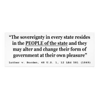 Luther v Borden 48 US 1 12 L Ed 581 1849 Sovereign Photo