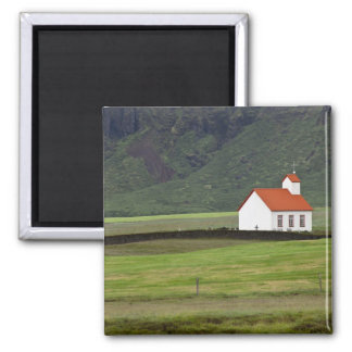 Lutheran Church, Iceland 2 Inch Square Magnet