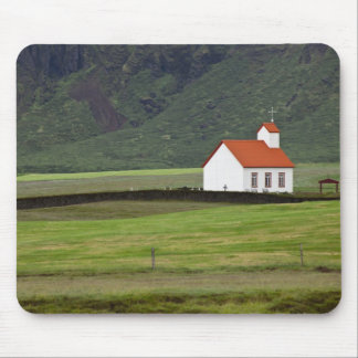 Lutheran Church, Iceland Mouse Pads