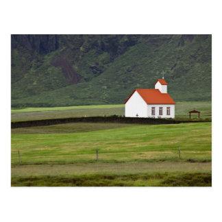 Lutheran Church, Iceland Postcard